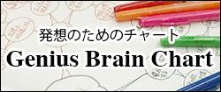 発送のためのチャート Genius Brain Chart
